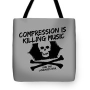 End The Loudness War Tote Bag