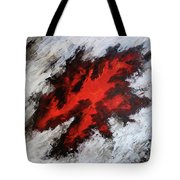 Endeavor Abstract Expressionism Tote Bag