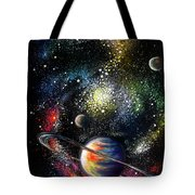 Endless Beauty Of The Universe Tote Bag