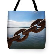 Endless Chain Of Hope  Tote Bag