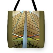 Operatic Bilateralism Tote Bag