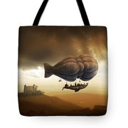 Endless Journey - Steampunk Incredible Adventure Tote Bag