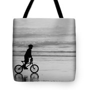 Endless Possibilities - Black And White Tote Bag