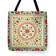 Enduring Love Floral Painting Tote Bag