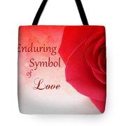 Enduring Symbol Of Love Tote Bag