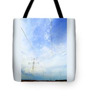 Energy Above And Below Two  Tote Bag