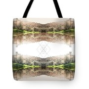 Energy And Light  Tote Bag