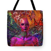 Energy Meridian Tote Bag by Joseph Mosley