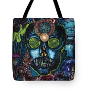 Energy Self Portrait Tote Bag