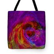 Energy Wave Tote Bag