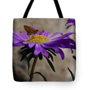 Engaged In Purple Tote Bag
