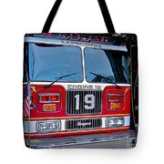 Engine 19 Tote Bag