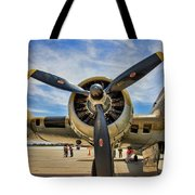 Engine B-17 Tote Bag