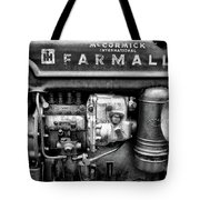 Engine - Farmall Tractor  Tote Bag