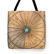 Engineered Wood Dome Tote Bag