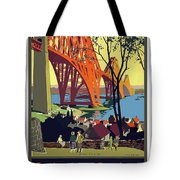 England And Scotland, Bridge Tote Bag