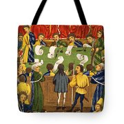 England: Court, 15th Century Tote Bag