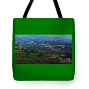 An Aerial Vision Of England Tote Bag