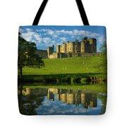 England, Northumberland, Alnwick Castle Tote Bag