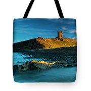 England, Northumberland, Dunstanburgh Castle Tote Bag