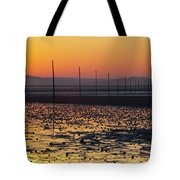 England, Northumberland, Pilgrims Causeway Tote Bag