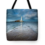 England, Tyne And Wear, Whitley Bay  Tote Bag