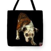 English Bulldog Dog Art - 1368 - Bb Tote Bag