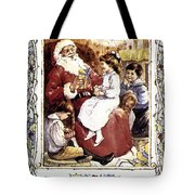 English Christmas Card Tote Bag