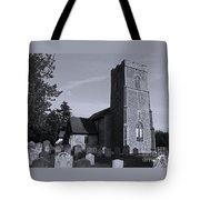 English Churchyard Tote Bag