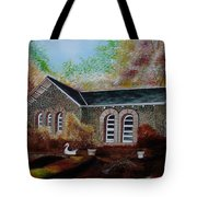 English Cottage In The Autumn Tote Bag