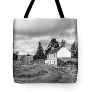 English Cottage In Winter Tote Bag