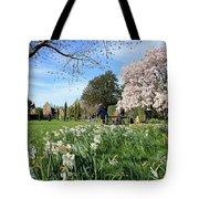 English Country Garden Tote Bag