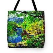 English Country Lake 1d Tote Bag