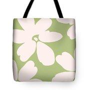 English Garden Floral Pattern Tote Bag