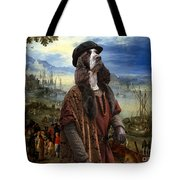 English Springer Spaniel Art Canvas Print  - The Port Tote Bag
