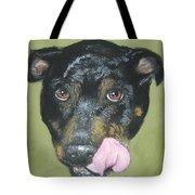 English Staffordshire Bull Terrier  Tote Bag