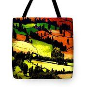 English Summer Fields Tote Bag