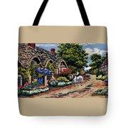 English Tapestry Tote Bag