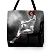 Engrossing Mood Tote Bag