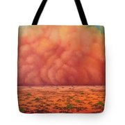 Engulfing Winds Tote Bag