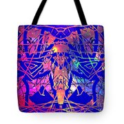 Enigma In Abstraction Tote Bag