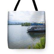 Enisey , Krasnoyarsk . Tote Bag by Atul Daimari