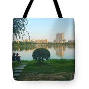 Enjoy The Sunset  Tote Bag