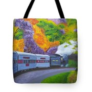 'enjoy Your Journey As Much As Your Destination' Tote Bag