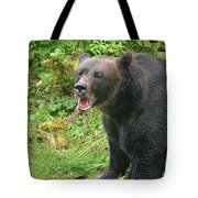 Enjoying Breakfast Tote Bag