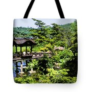 Enjoying The Garden Tote Bag