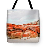 Enjoying The Moment Bay Of Fires Tote Bag