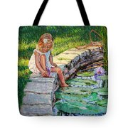 Enjoying Yesterdays Sunlight Tote Bag
