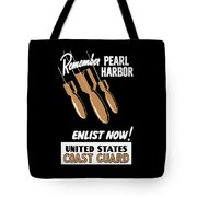 Enlist Now - United States Coast Guard Tote Bag