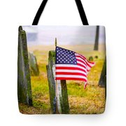 Enriched American Flag - Remember Tote Bag